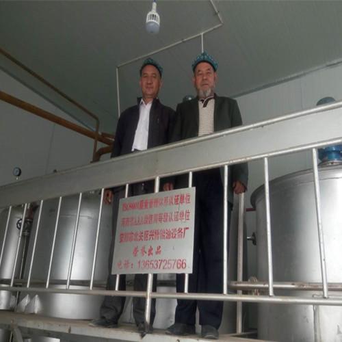 新疆喀什棉籽油精炼设备工程项目