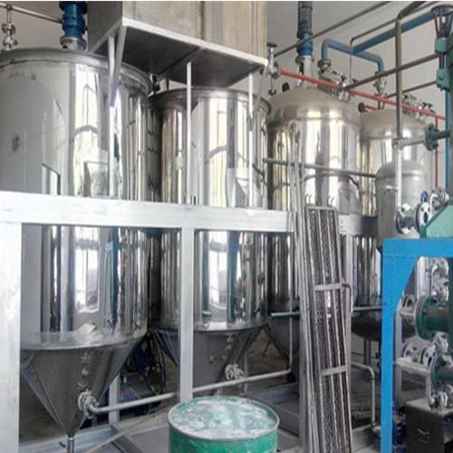 河北保定甘霖土特产公司核桃油精炼设备工程项目