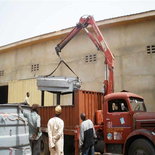 尼日利亚安装现场