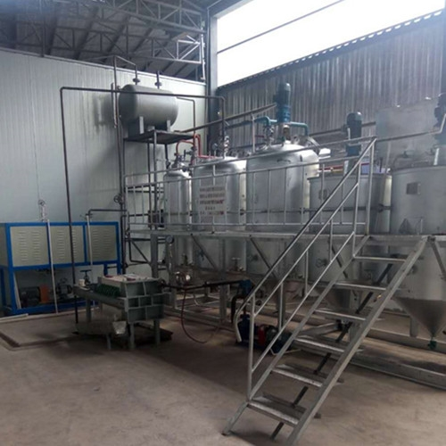 云南普洱昌瑞公司核桃油精炼设备工程项目