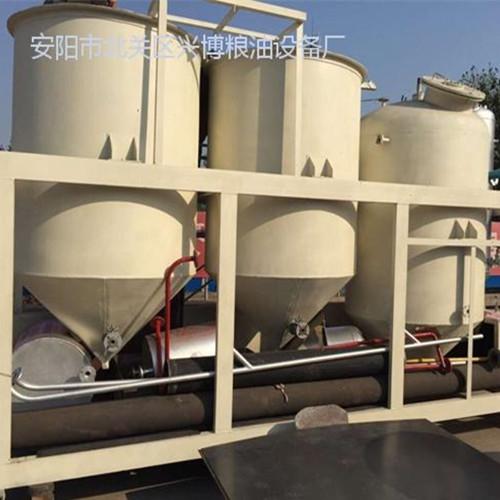 鄂尔多斯蒙香源公司胡麻油精炼设备工程项目