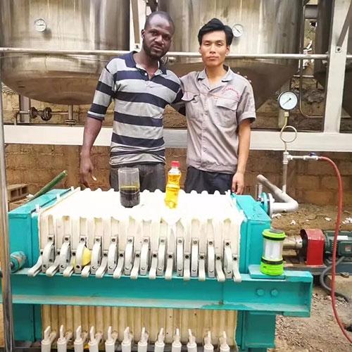 2018开门红!非洲日处理5吨精炼设备项目签约