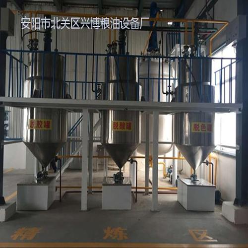 核桃油精炼成套设备