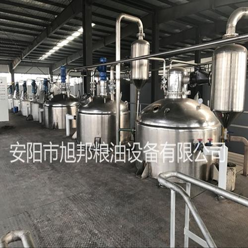 河北棉籽油精炼油设备
