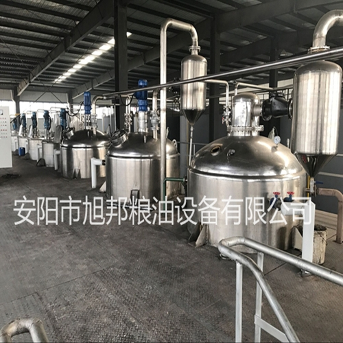 安徽棉籽油精炼油设备