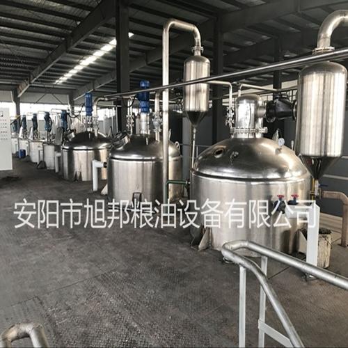 天津棉籽油精炼油设备